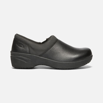 Women's KANTEEN Clog (Soft Toe) in BLACK/BLACK - large view.