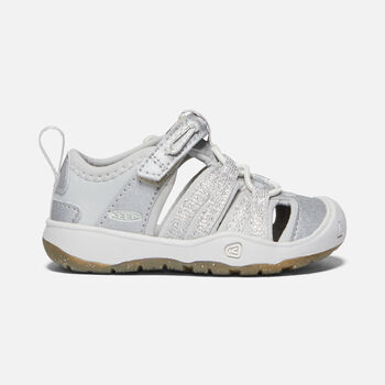 Toddlers' Moxie Sandal in SILVER - large view.