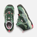 Big Kids' TERRADORA Waterproof Mid in DUCK GREEN/QUIET GREEN - small view.