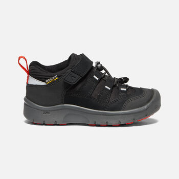 Little Kids' HIKEPORT Waterproof in BLACK/BRIGHT RED - large view.