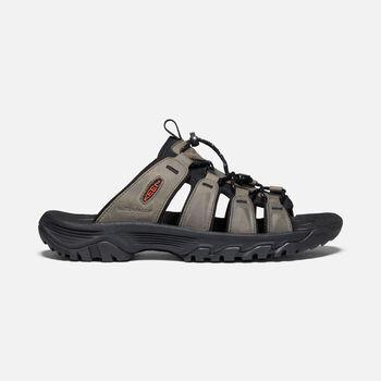 Men's Targhee III Slide Sandal in Grey/Black - large view.