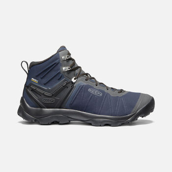 Men's Venture Mid Waterproof in BLUE NIGHTS/RAVEN - large view.