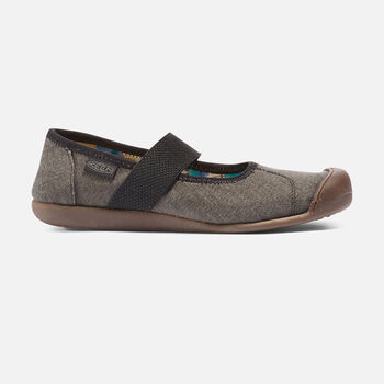 Women's Sienna Canvas Mary Jane in NEW BLACK - large view.