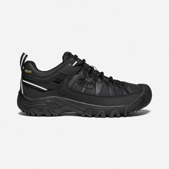 Men's Targhee EXP Waterproof in Black/Black - large view.
