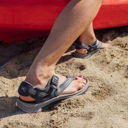 Women's Terradora II Toe Post Sandal in  - on-body view.