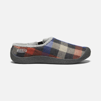 Women's Howser Slide in MULTI PLAID/RAVEN - large view.