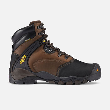 "Men's Louisville 6"" MET (Steel Toe) in Slate Black - large view."