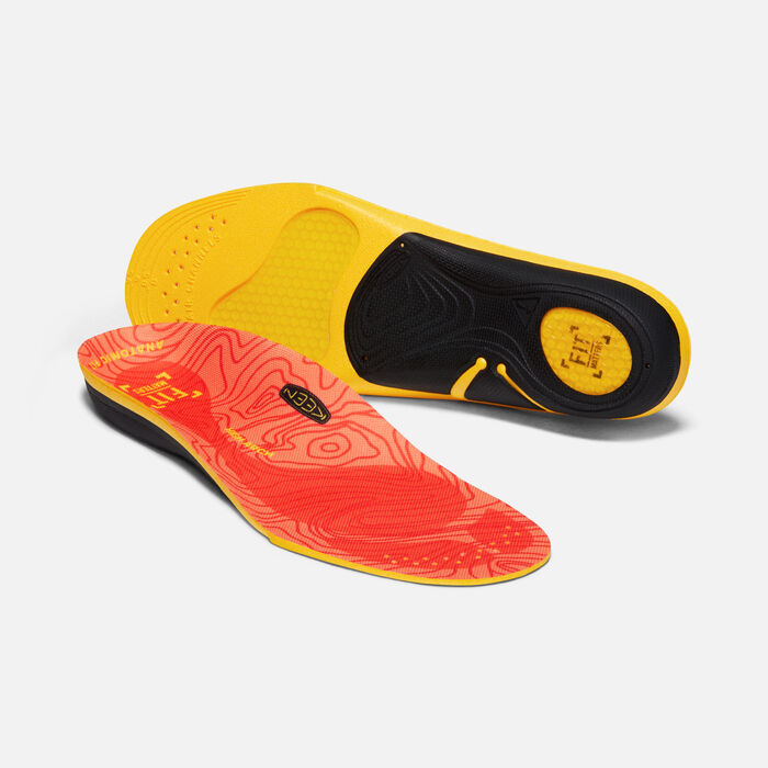 Women's Outdoor K-30 High Arch Insole in RED - large view.