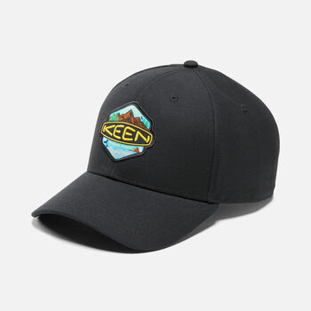 KEEN Badge Hat in Black - large view.