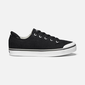 Women's ELSA III SNEAKER in BLACK - large view.