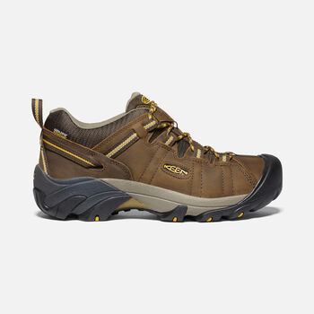 Men's Targhee II Waterproof in Cascade Brown/Golden Yellow - large view.