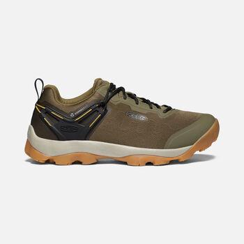 Men's Venture Vent Shoe in Dark Olive/Harvest Gold - large view.