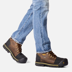 Men's Milwaukee Waterproof (Steel Toe) in  - on-body view.