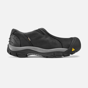 Men's Brixen Waterproof Low in Black/Gargoyle - large view.