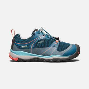 Big Kids' TERRADORA Waterproof Low in AQUA SEA/CORAL - large view.