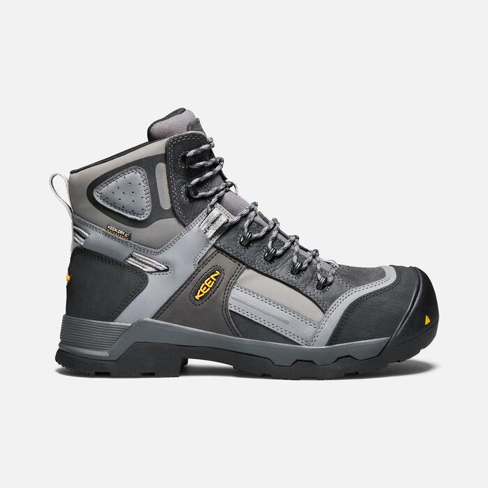 """Men's Davenport 6"""" Insulated Waterproof Boot (Composite Toe) in Magnet/Steel Grey - large view."""