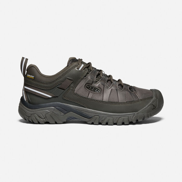 Men's Targhee EXP Waterproof in Black Olive/Black Olive - large view.