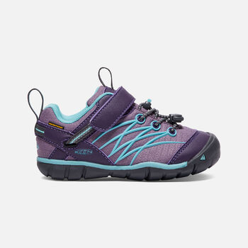 Little Kids' CHANDLER Waterproof CNX in Montana Grape/Aqua Haze - large view.