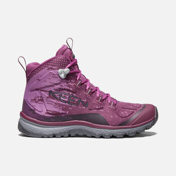 Women's Terradora EVO Mid in GRAPE WINE/GRAPE KISS - large view.
