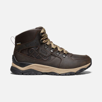 Men's Innate Sherpa Waterproof Boot in ROOT BROWN - large view.