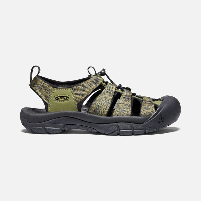 Men's Newport H2 in Olive/Black - large view.
