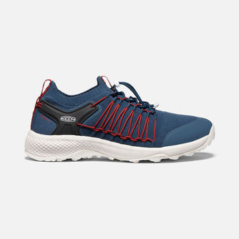 Men's Explore UNEEK in MAJOLICA BLUE/RIO RED - large view.