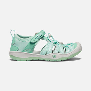 Little Kids' Moxie Sandal in Ocean Wave/Vapor - large view.