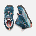 Little Kids' TERRADORA Waterproof Mid in AQUA SEA/CORAL - small view.