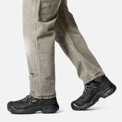 Men's Braddock Waterproof Mid (Soft Toe) in  - on-body view.