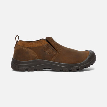 Men's Grayson Slip-On in Mid Brown/Scylum Full-Grain - large view.