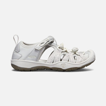 Little Kids' Moxie Sandal in SILVER - large view.