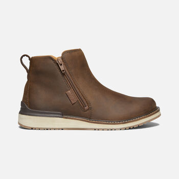 WOMEN'S BAILEY ANKLE ZIP in VEG BROWN - large view.