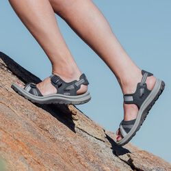 Women's Terradora II Open Toe Sandal in  - on-body view.