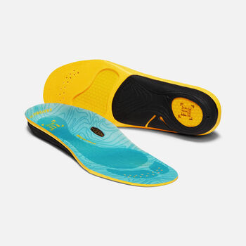 Women's Outdoor K-30 Medium Arch Insole in BLUE - large view.