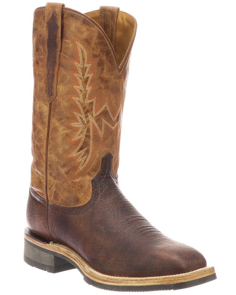 Men's Smooth Ostrich Skin Cowboy Boots