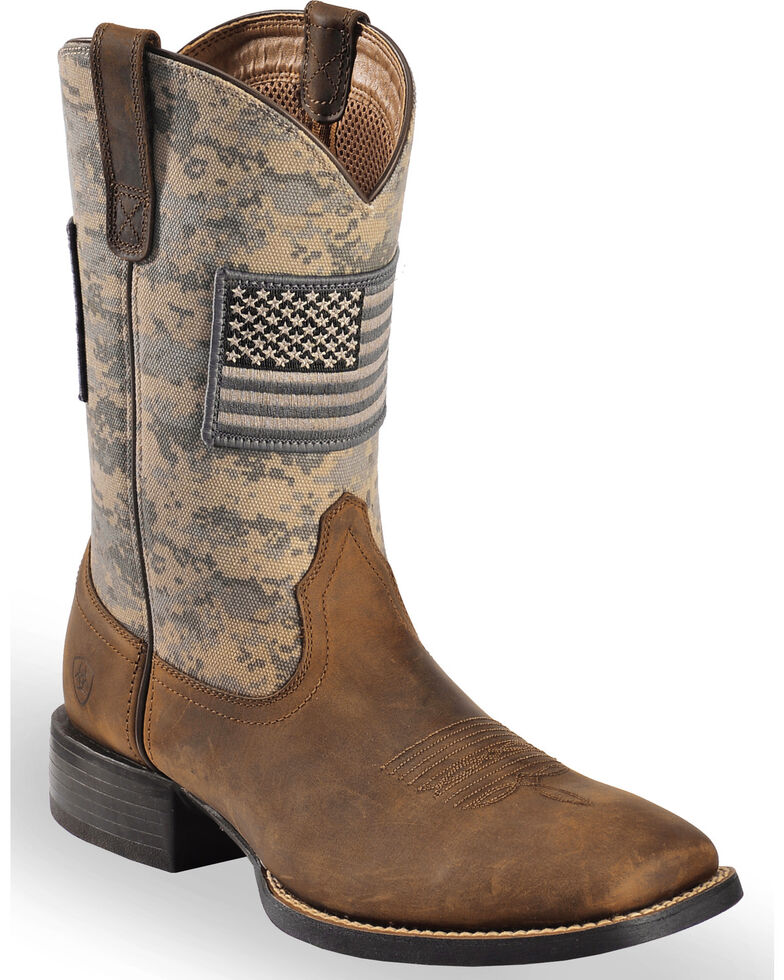 Men's Camo Cowboy Boots