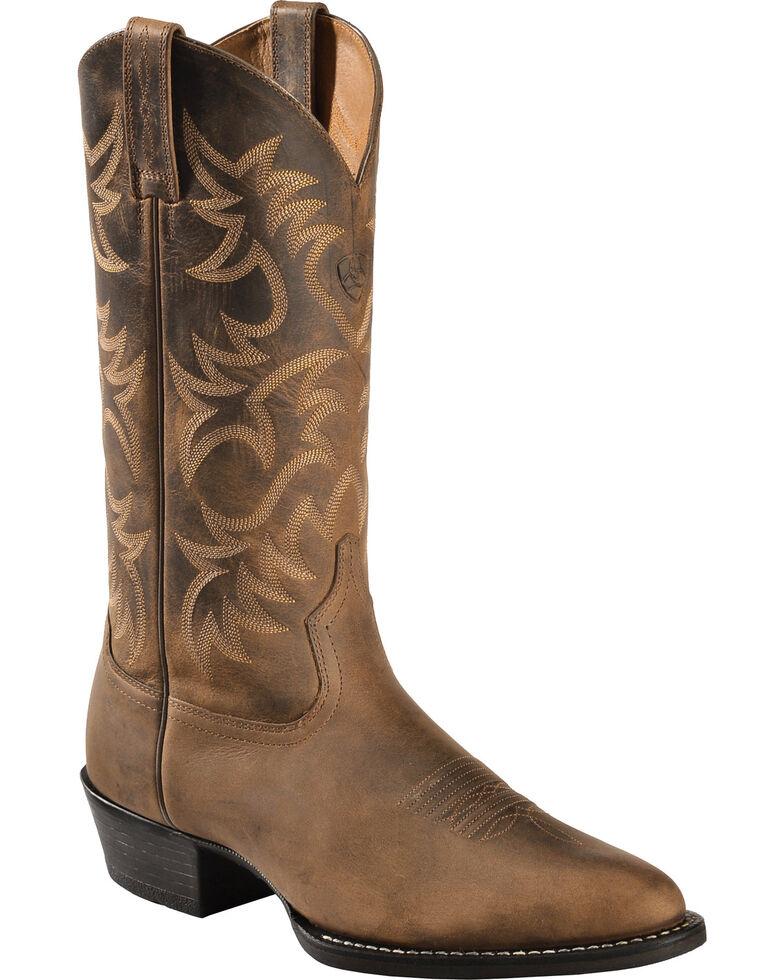 Men's Medium Toe Cowboy Boots