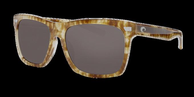 Del Mar Collection - Aransas Polarized Sunglasses - Shiny Kelp - Polarized 580 Gray Lenses