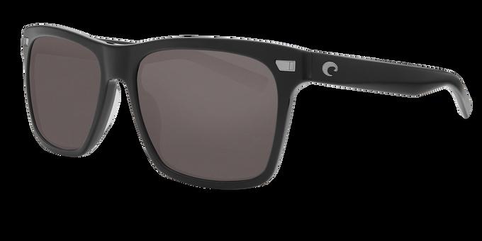 Del Mar Collection - Del Mar Polarized Sunglasses - Shiny Black - Polarized 580 Gray Lenses