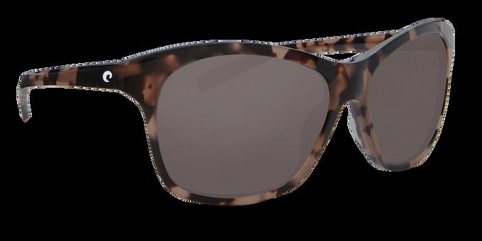 Del Mar Collection - Sarasota Polarized Sunglasses - Shiny Dusk - Polarized 580 Gray Lenses