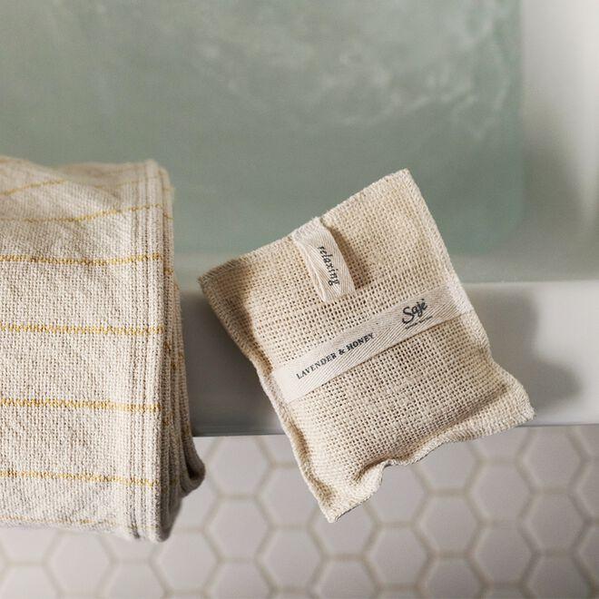 Jute & Joy Soap-filled washpad