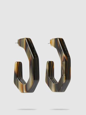 Rachel Comey - Baby Factor Geometric Malachite Earrings