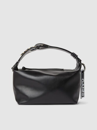 Ganni - Leather Shoulder Bag