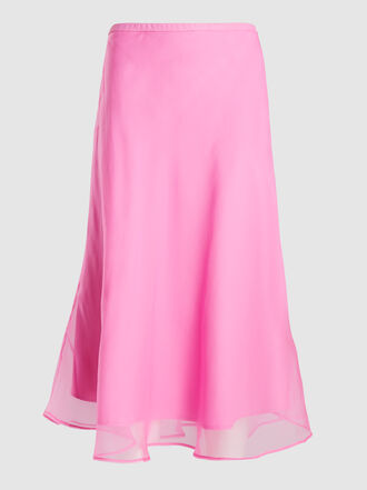 Maggie Marilyn - Because We Can Silk Midi Skirt