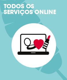 Todos os serviços online