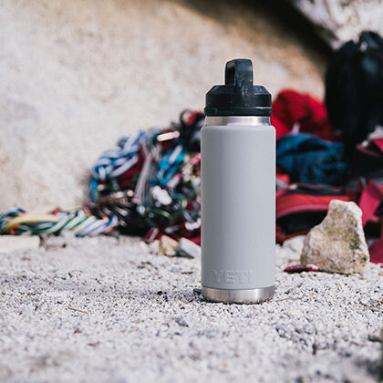 Rambler 46 oz Bottle in Granite Gray