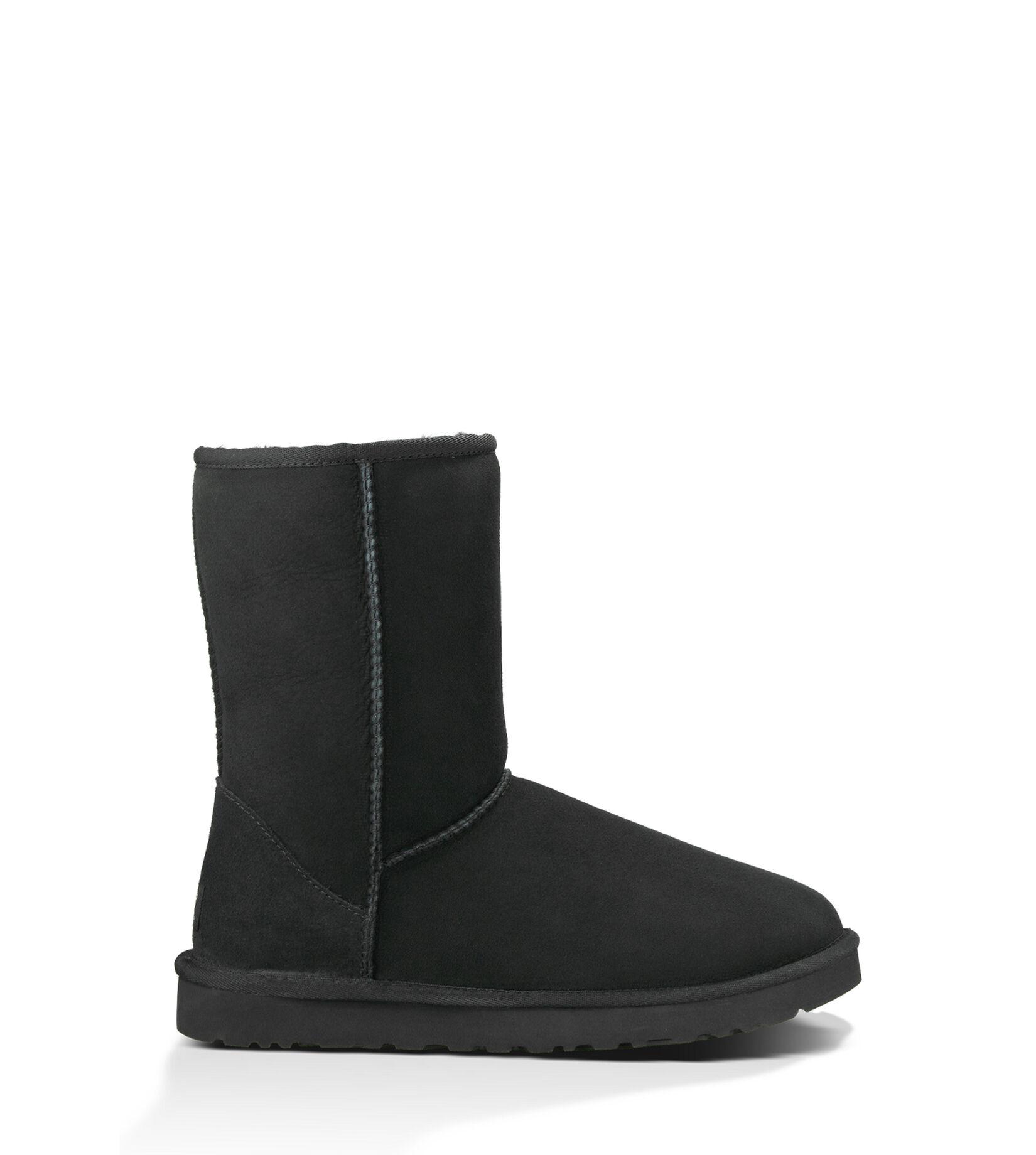 UGG (アグ) メンズ ブーツ CLASSIC SHORT - クラシックショート Black, 28.0