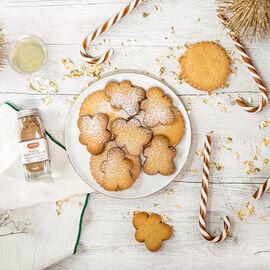 Christmas shortbread Recette proposée par La Grande Épicerie de Paris