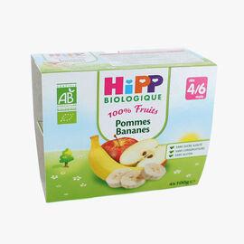 Fruit pots for babies: apple-banana HiPP