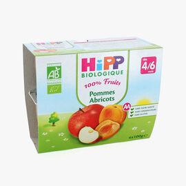 Fruit pots for babies: apple-apricot HiPP